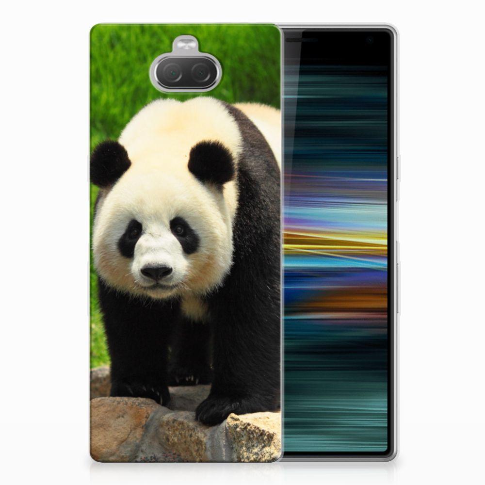 Sony Xperia 10 Plus TPU Hoesje Panda