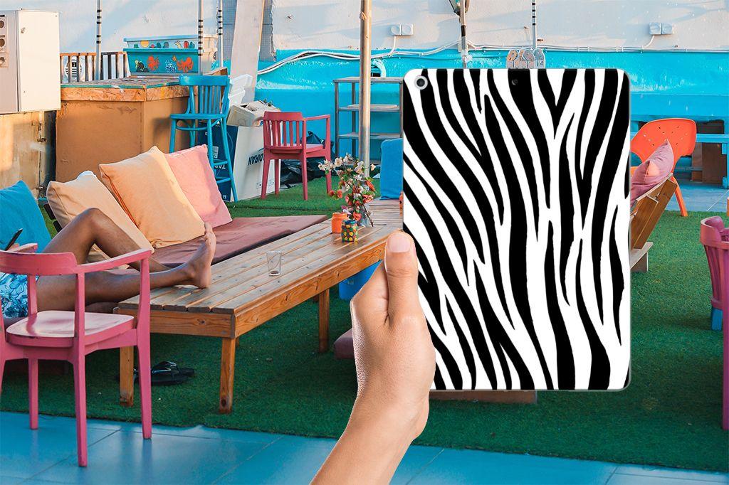 Apple iPad 9.7 2018   2017 Back Case Zebra