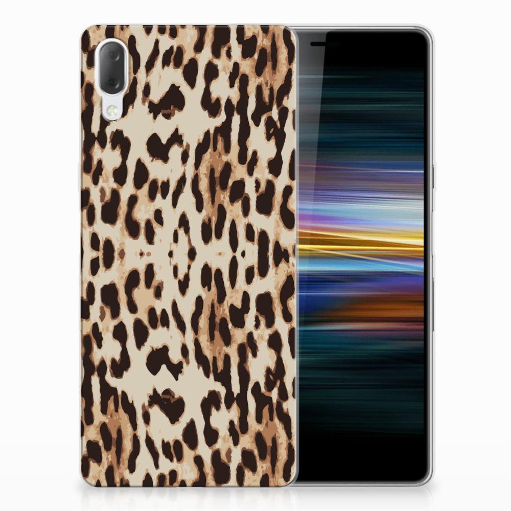 Sony Xperia L3 Leuk Hoesje Leopard