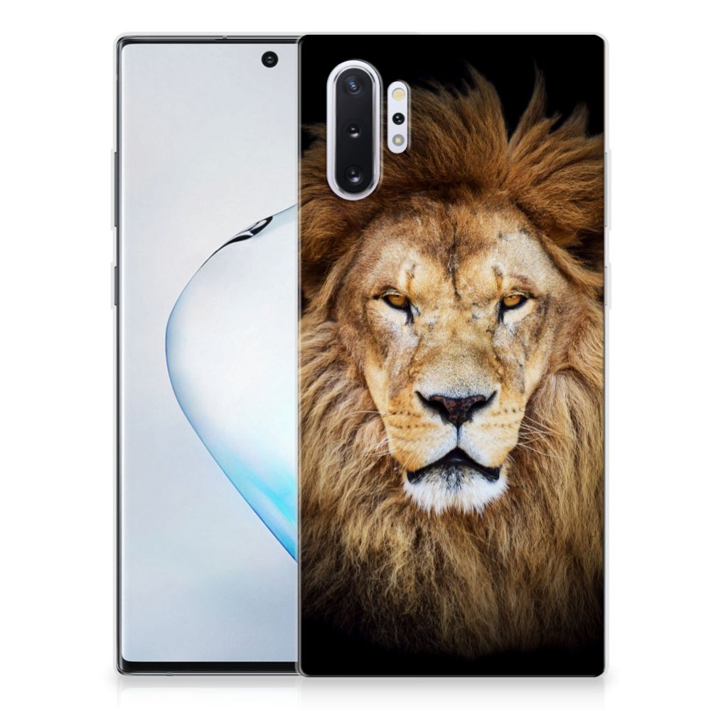 Samsung Galaxy Note 10 Plus TPU Hoesje Leeuw