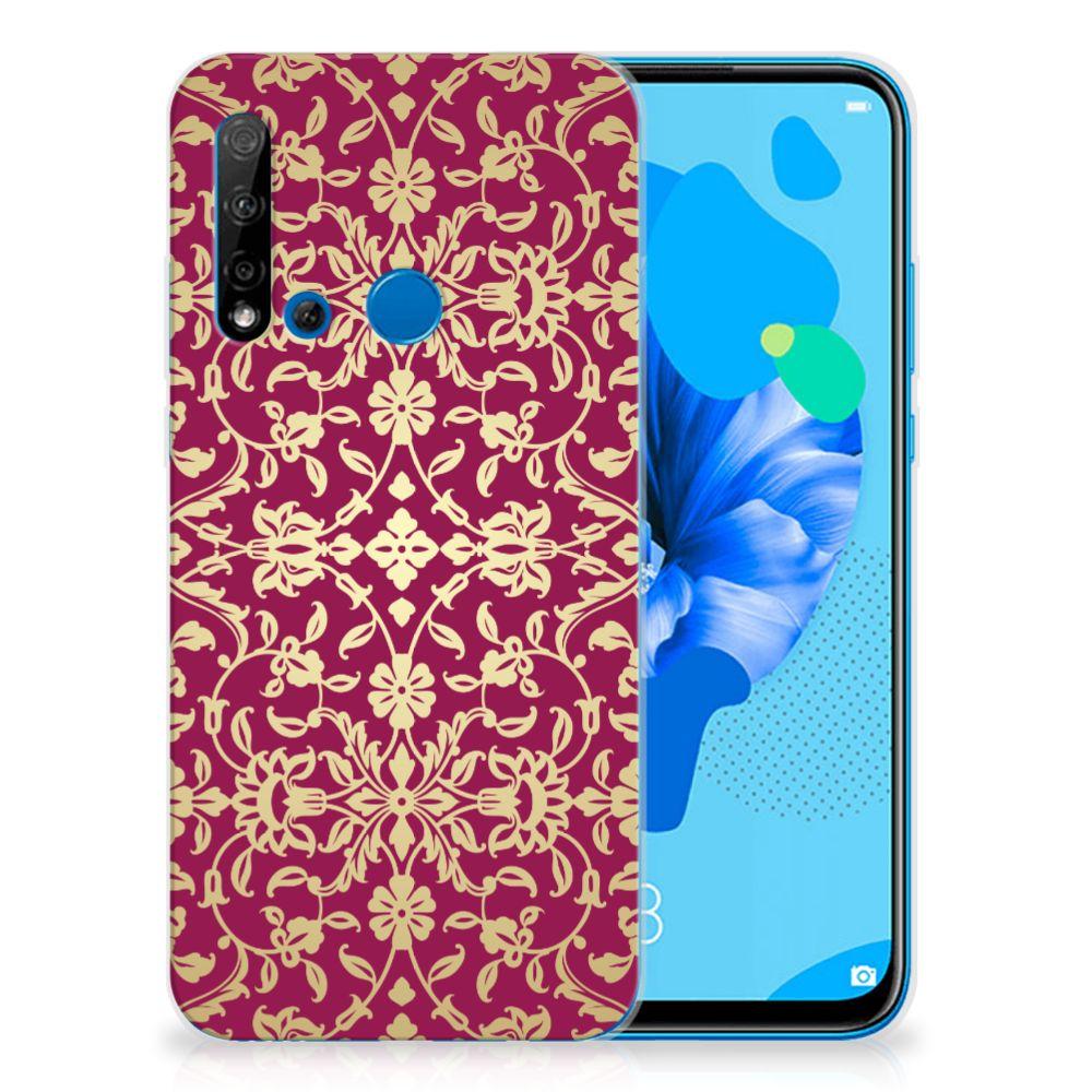 Siliconen Hoesje Huawei P20 Lite (2019) Barok Pink