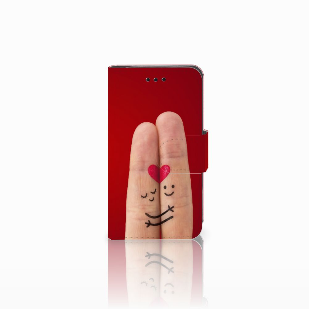 Samsung Galaxy Trend 2 Uniek Boekhoesje Liefde