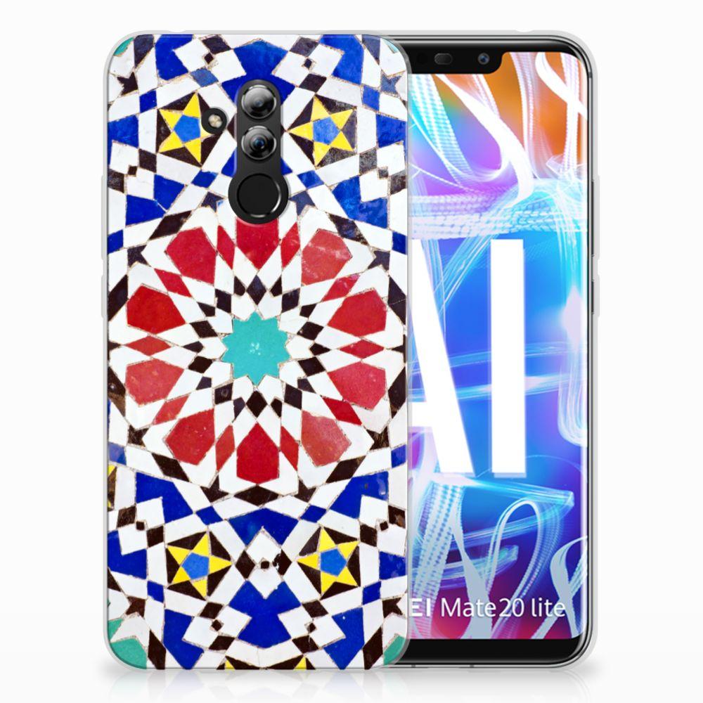 Huawei Mate 20 Lite TPU Hoesje Design Mozaïek