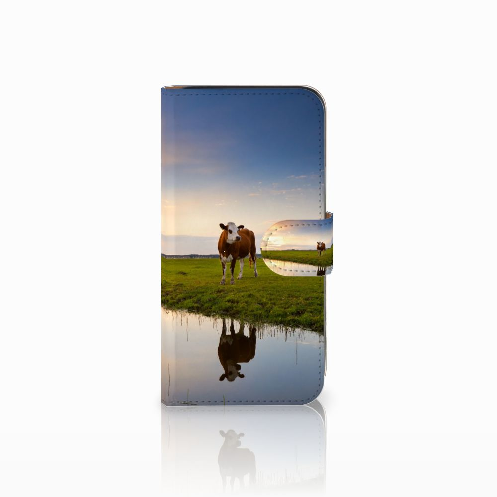Samsung Galaxy E5 Boekhoesje Design Koe