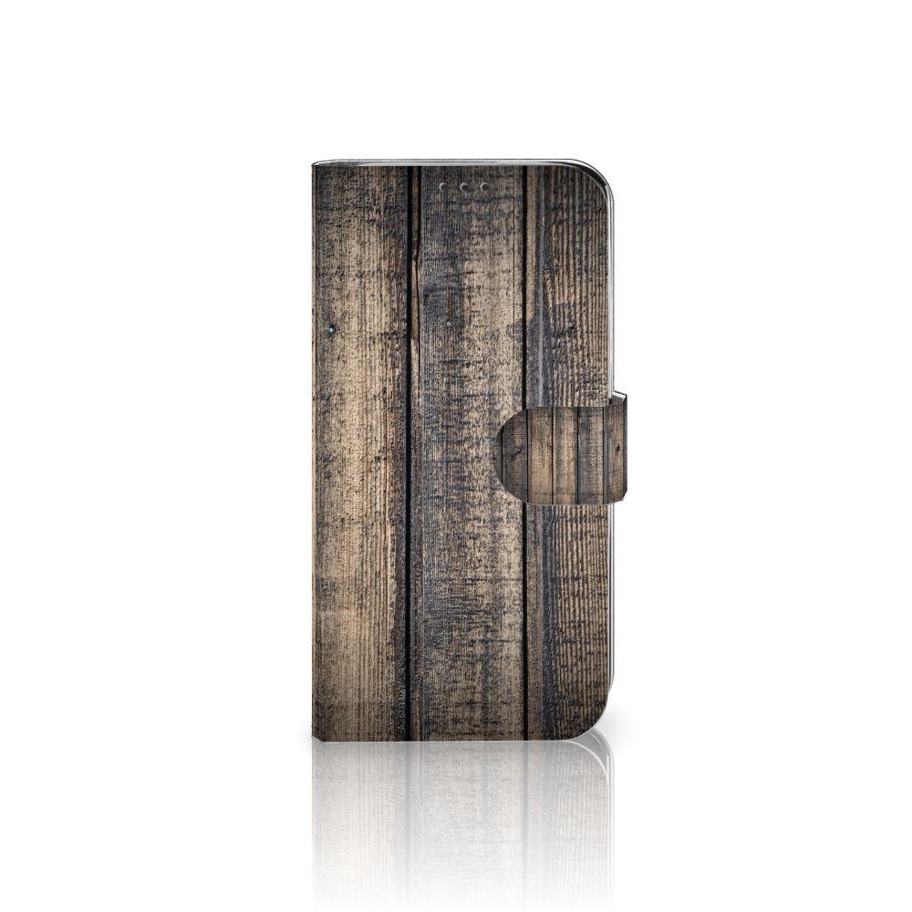 Xiaomi Mi A2 Lite Boekhoesje Design Steigerhout