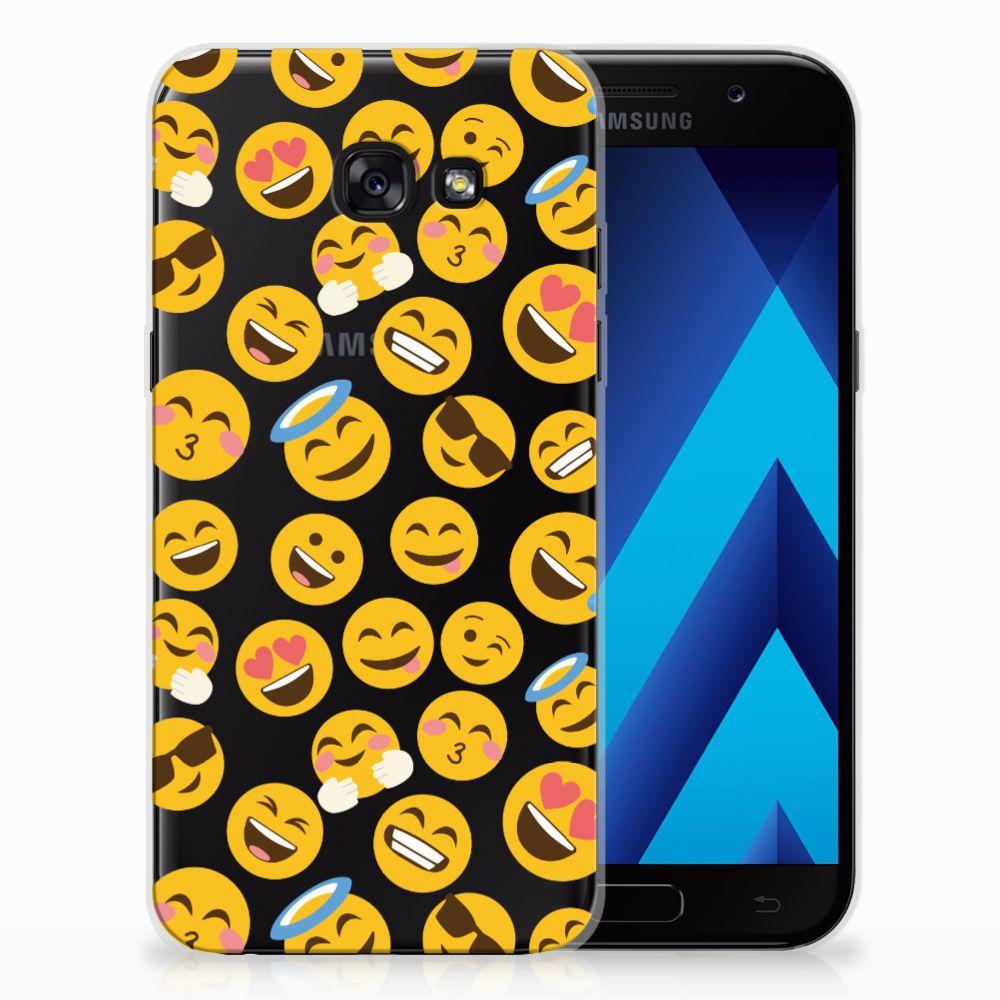 Samsung Galaxy A5 2017 TPU bumper Emoji