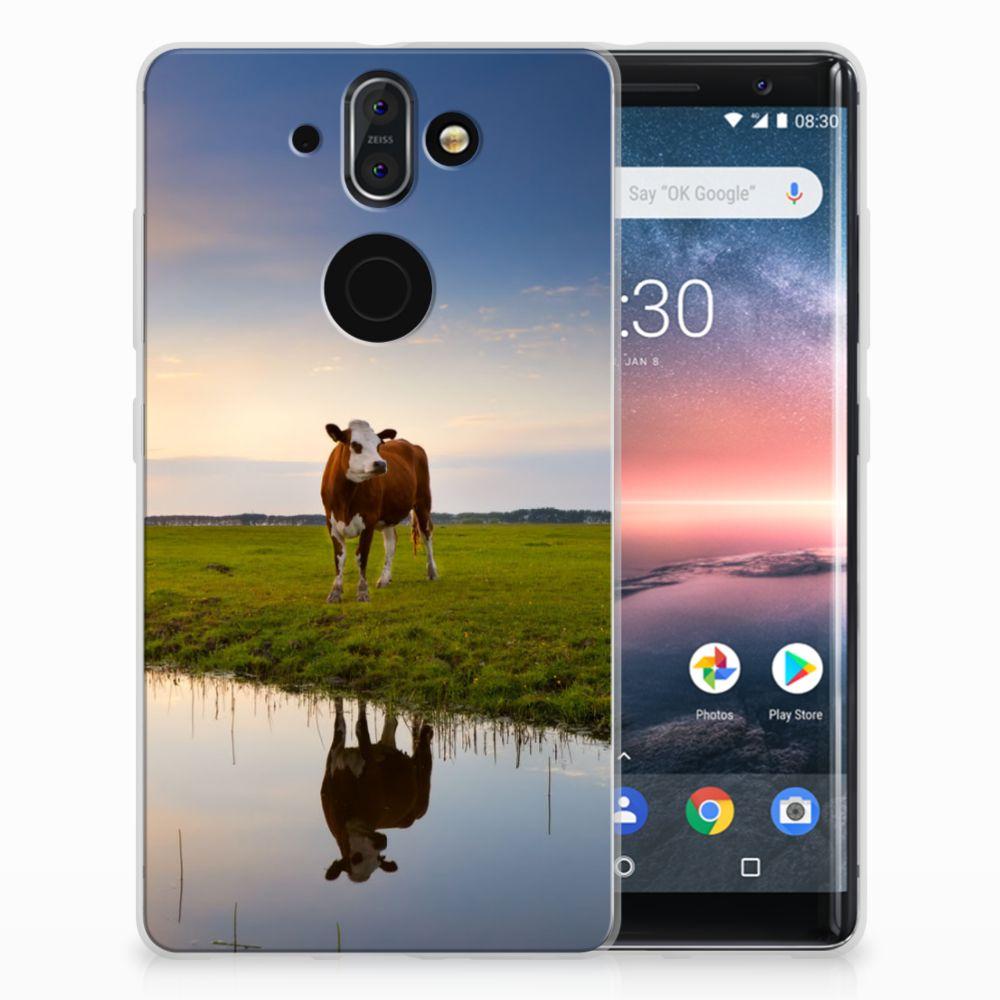 Nokia 9 | 8 Sirocco TPU Hoesje Design Koe