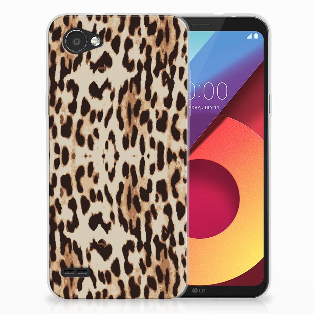 LG Q6 | LG Q6 Plus Uniek TPU Hoesje Leopard