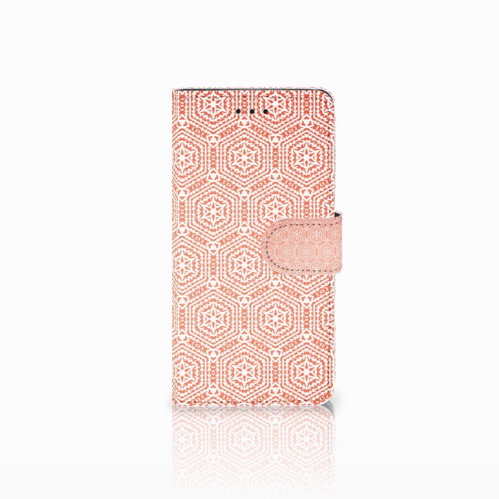Huawei Y5 2018 Telefoon Hoesje Pattern Orange