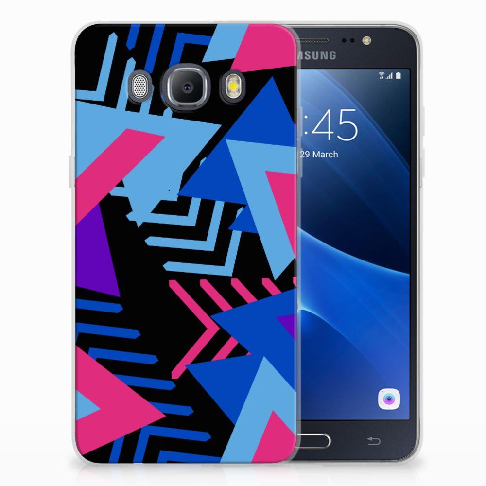 Samsung Galaxy J5 2016 TPU Hoesje Funky Triangle