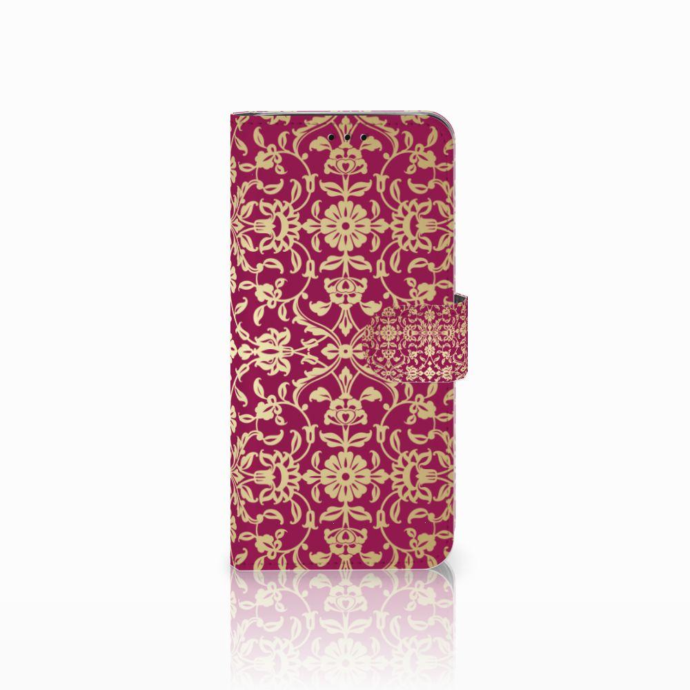 Wallet Case Samsung Galaxy J6 2018 Barok Pink