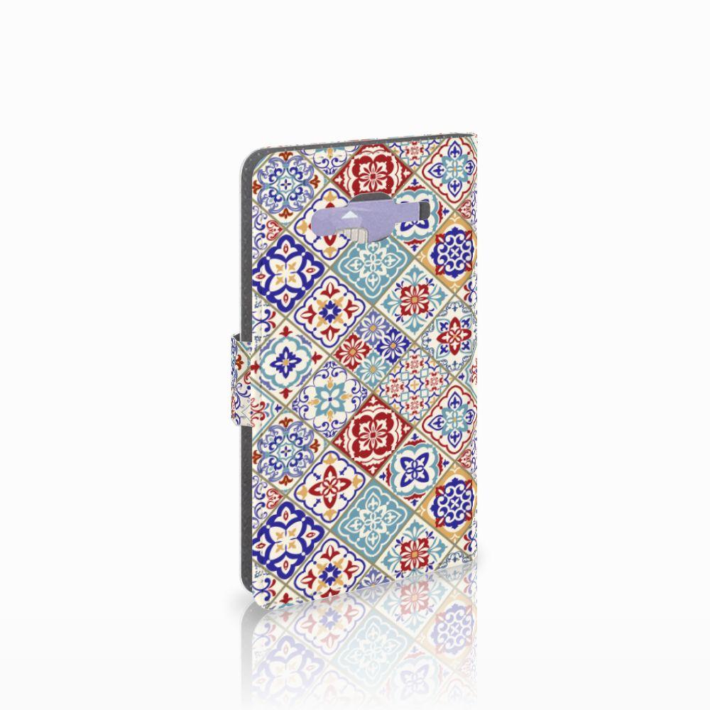 Samsung Galaxy J5 (2015) Uniek Boekhoesje Tiles Color