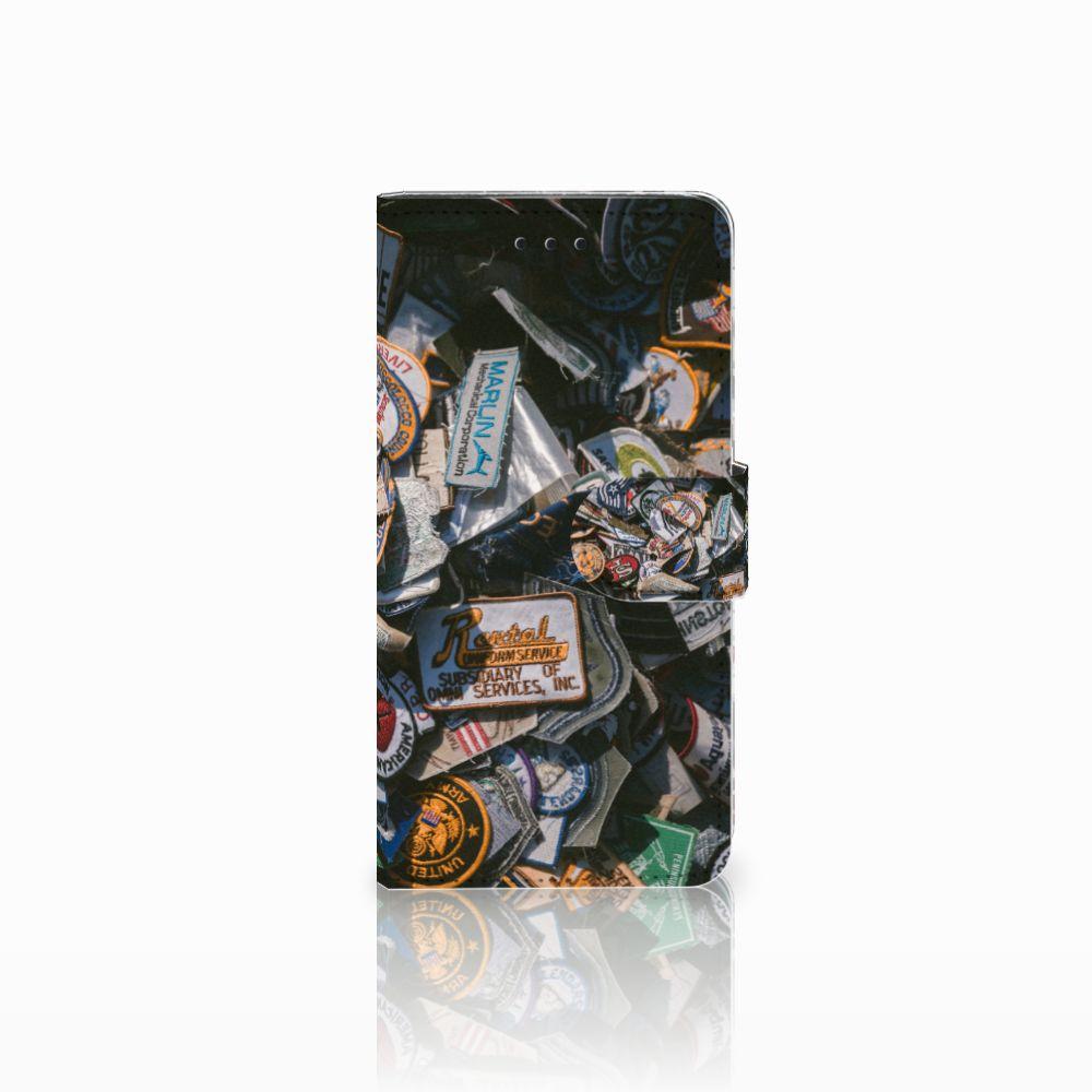 Huawei Y5 2018 Telefoonhoesje met foto Badges