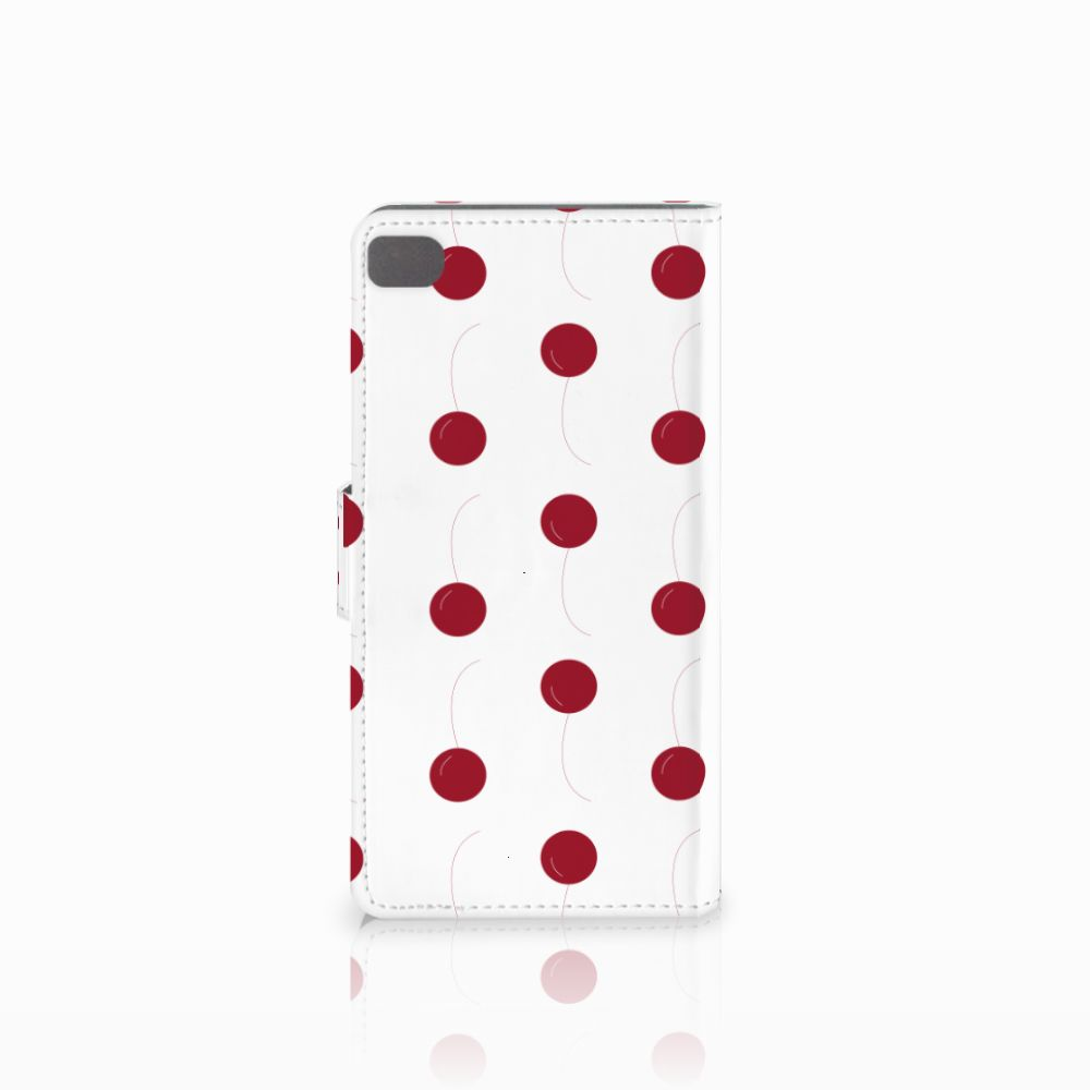 Huawei P8 Book Cover Cherries