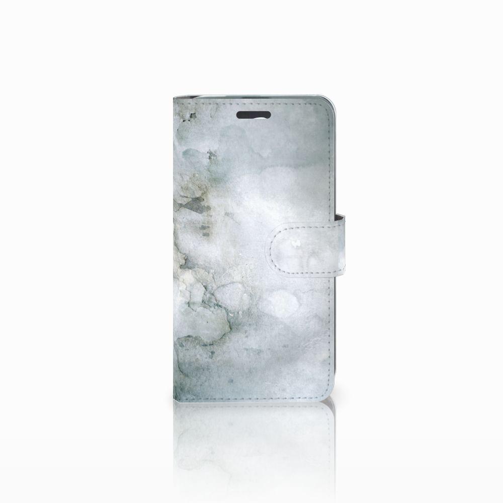 Acer Liquid Z520 Uniek Boekhoesje Painting Grey