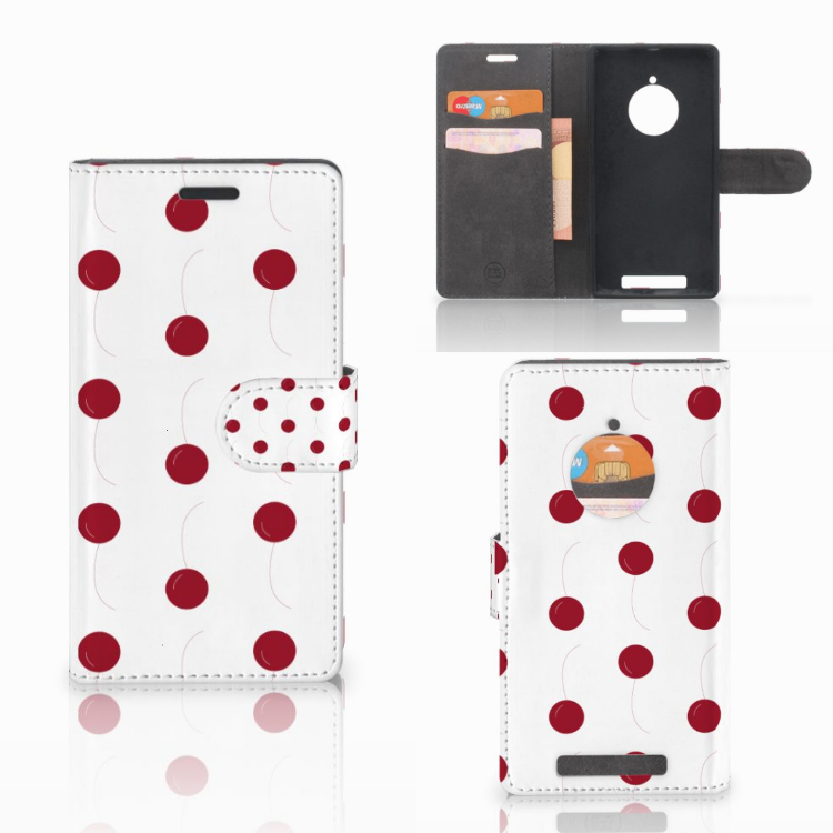 Nokia Lumia 830 Book Cover Cherries