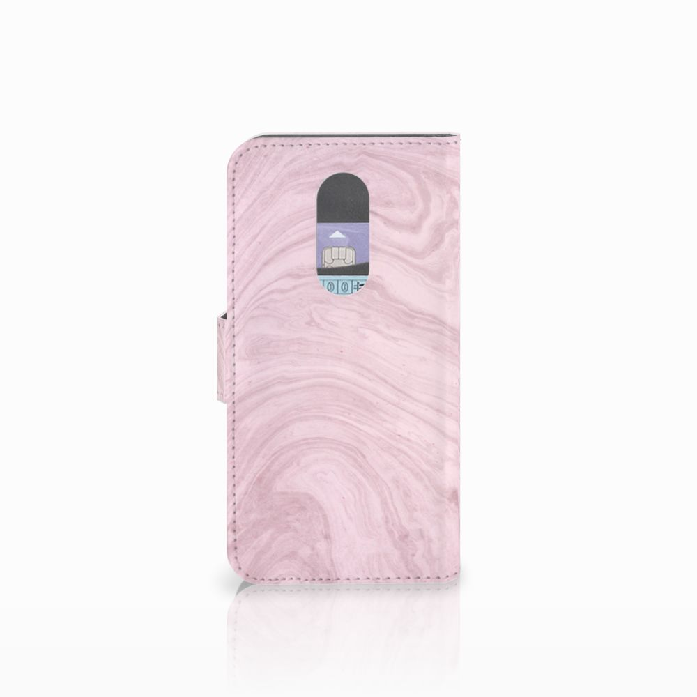 Wiko Wim Lite Bookcase Marble Pink