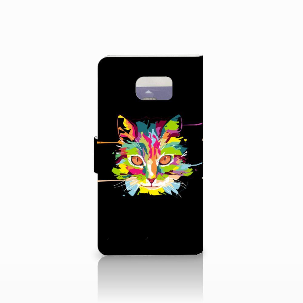 Samsung Galaxy Note 5 Leuke Hoesje Cat Color
