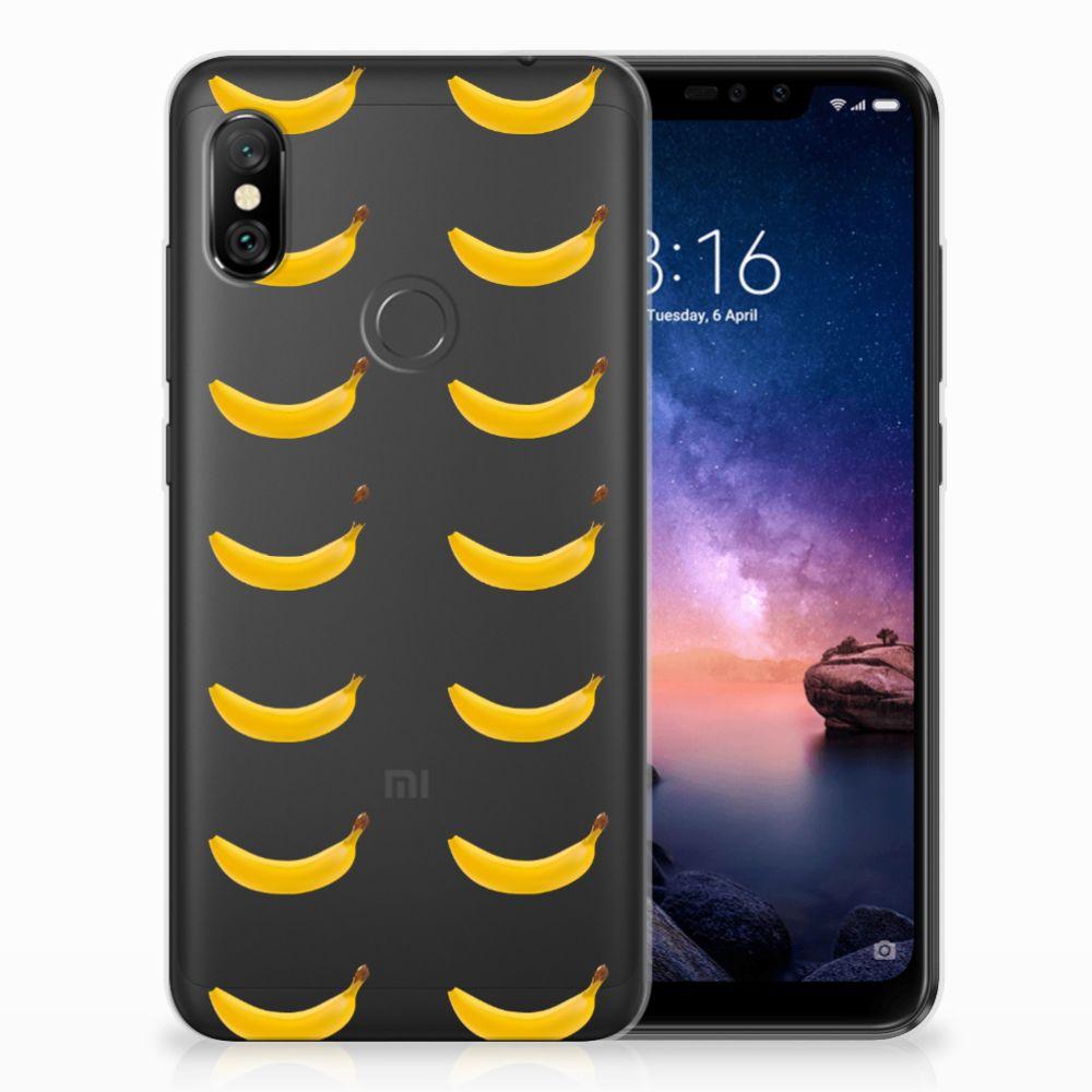 Xiaomi Redmi Note 6 Pro Siliconen Case Banana