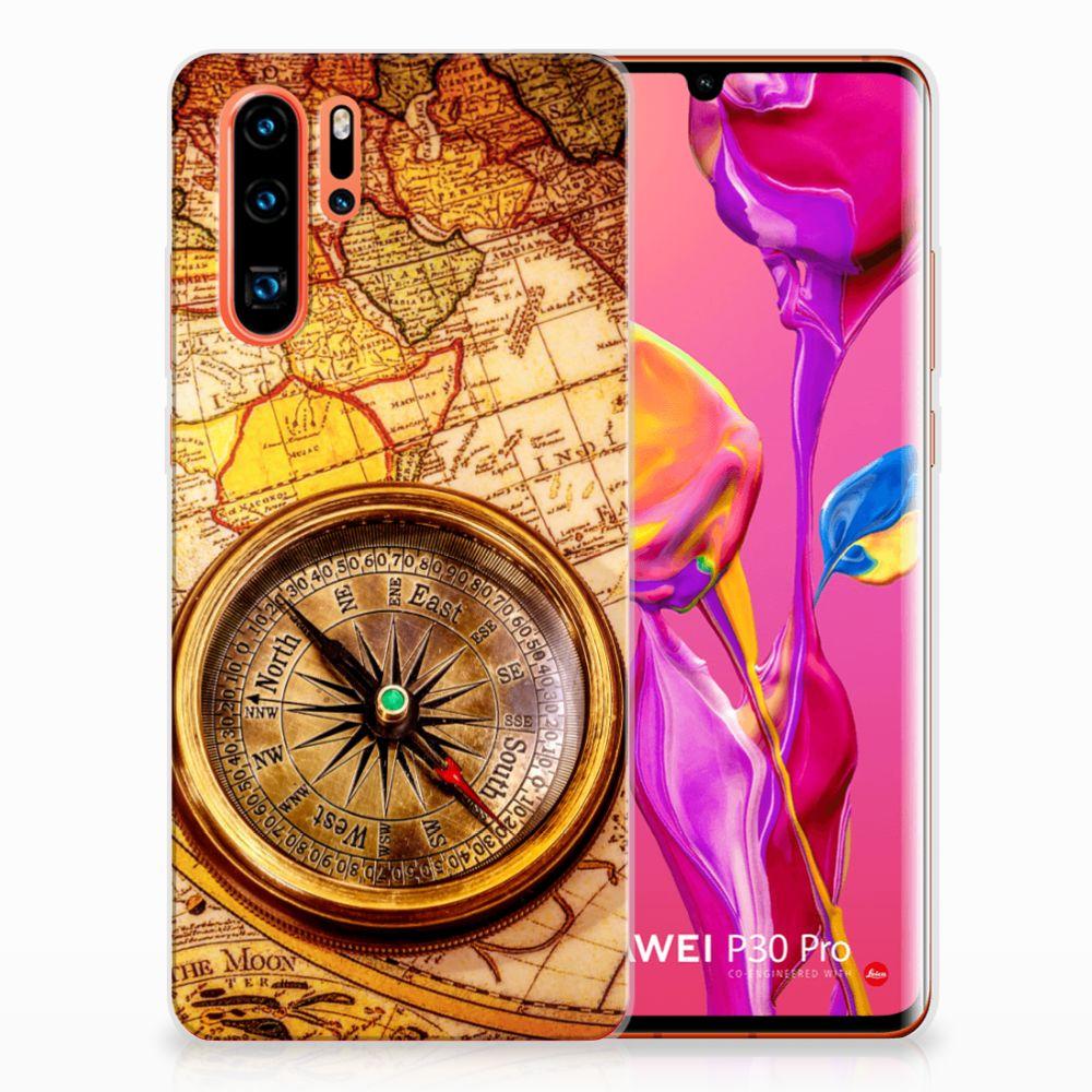 Huawei P30 Pro Siliconen Back Cover Kompas