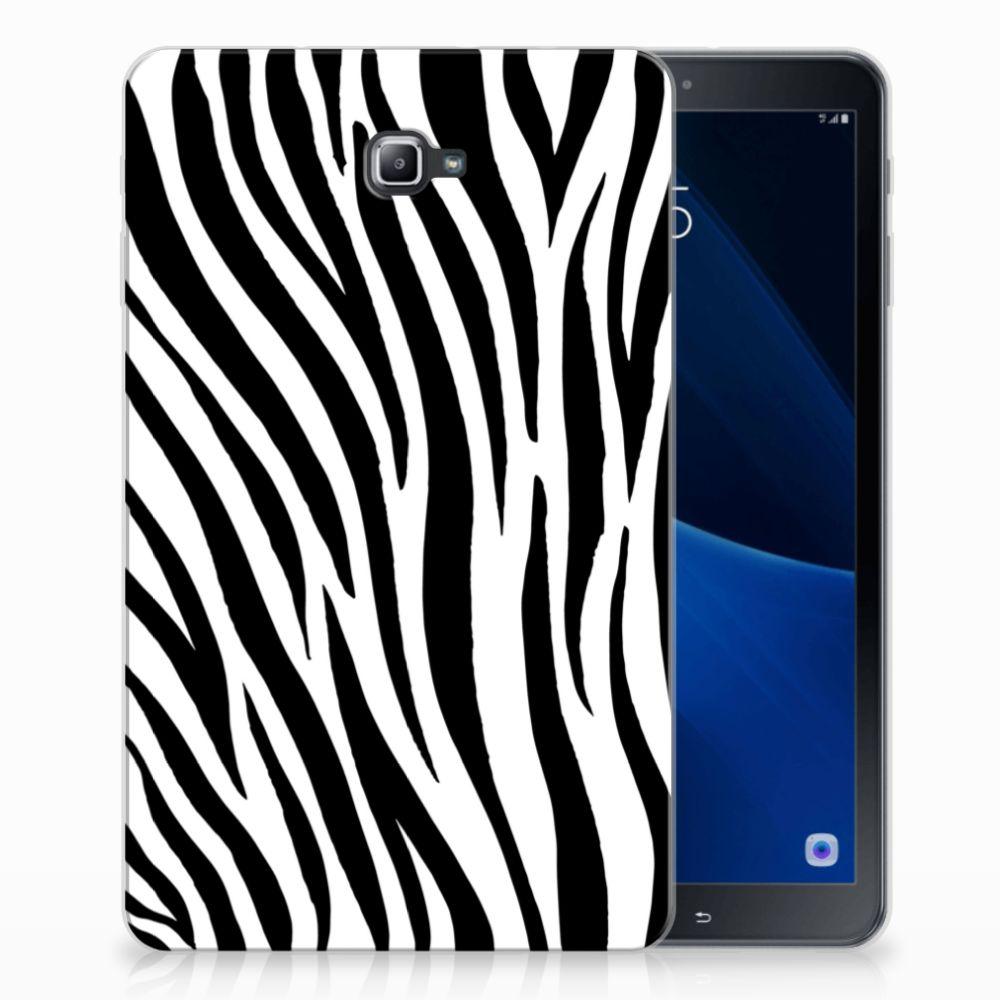 Samsung Galaxy Tab A 10.1 Back Case Zebra
