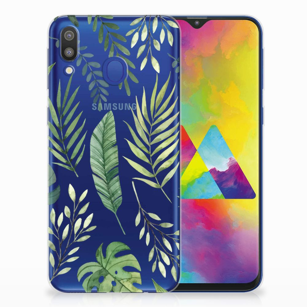Samsung Galaxy M20 (Power) TPU Case Leaves