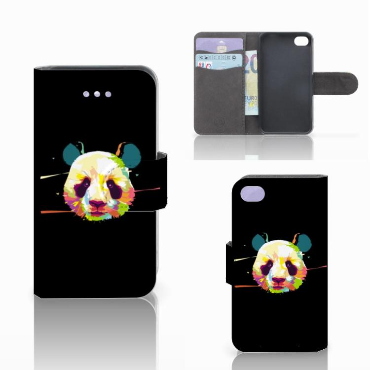 Apple iPhone 4 | 4S Leuk Hoesje Panda Color