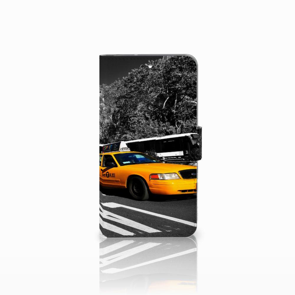 Motorola Moto G4 | G4 Plus Boekhoesje Design New York Taxi