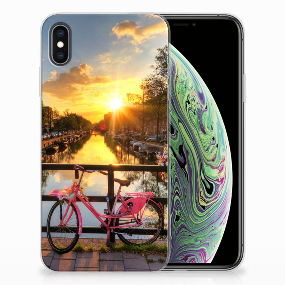 Apple iPhone Xs Max Uniek TPU Hoesje Amsterdamse Grachten