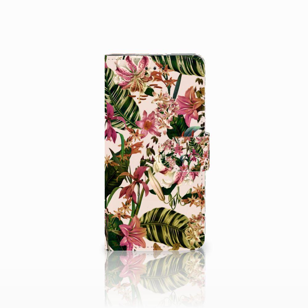 Motorola Moto G7 Play Uniek Boekhoesje Flowers