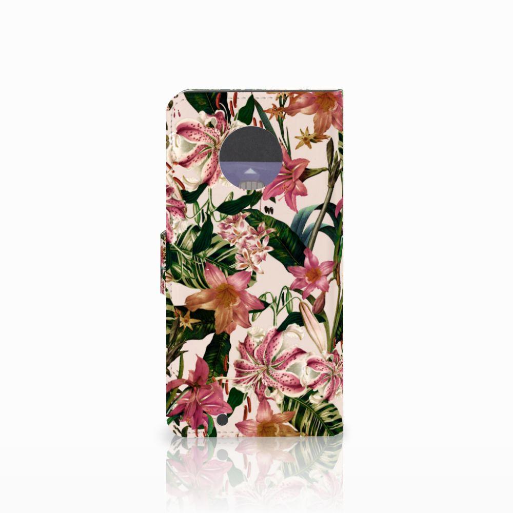Motorola Moto G6 Hoesje Flowers