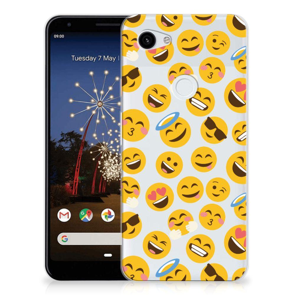 Google Pixel 3A XL TPU bumper Emoji