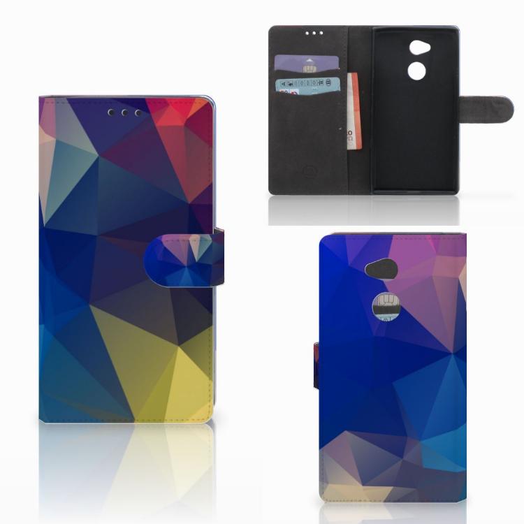 Sony Xperia XA2 Ultra Bookcase Polygon Dark