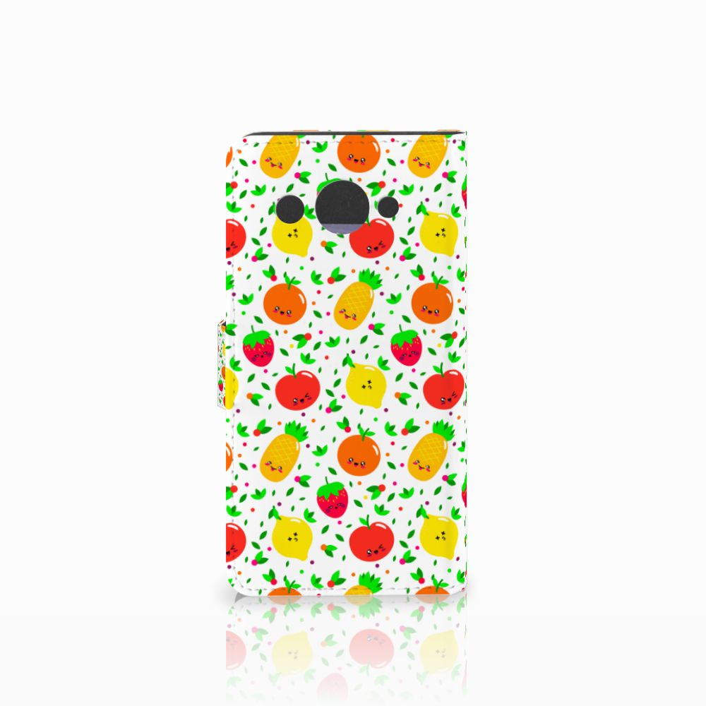 Huawei Y3 2017 Book Cover Fruits
