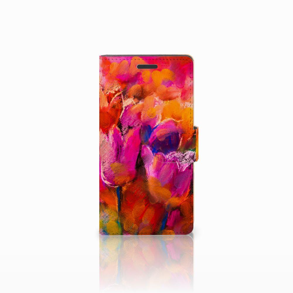 Nokia Lumia 830 Boekhoesje Design Tulips