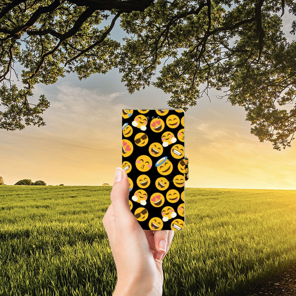 Huawei Ascend P8 Lite Boekhoesje Design Emoji