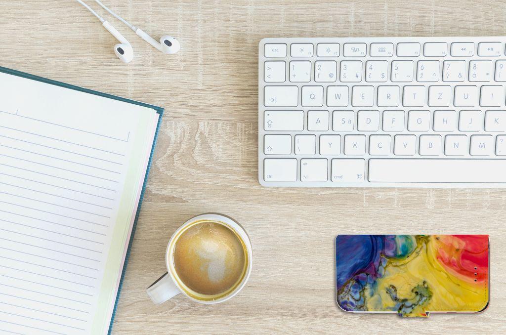 Hoesje Apple iPhone 6 | 6s Watercolor Dark