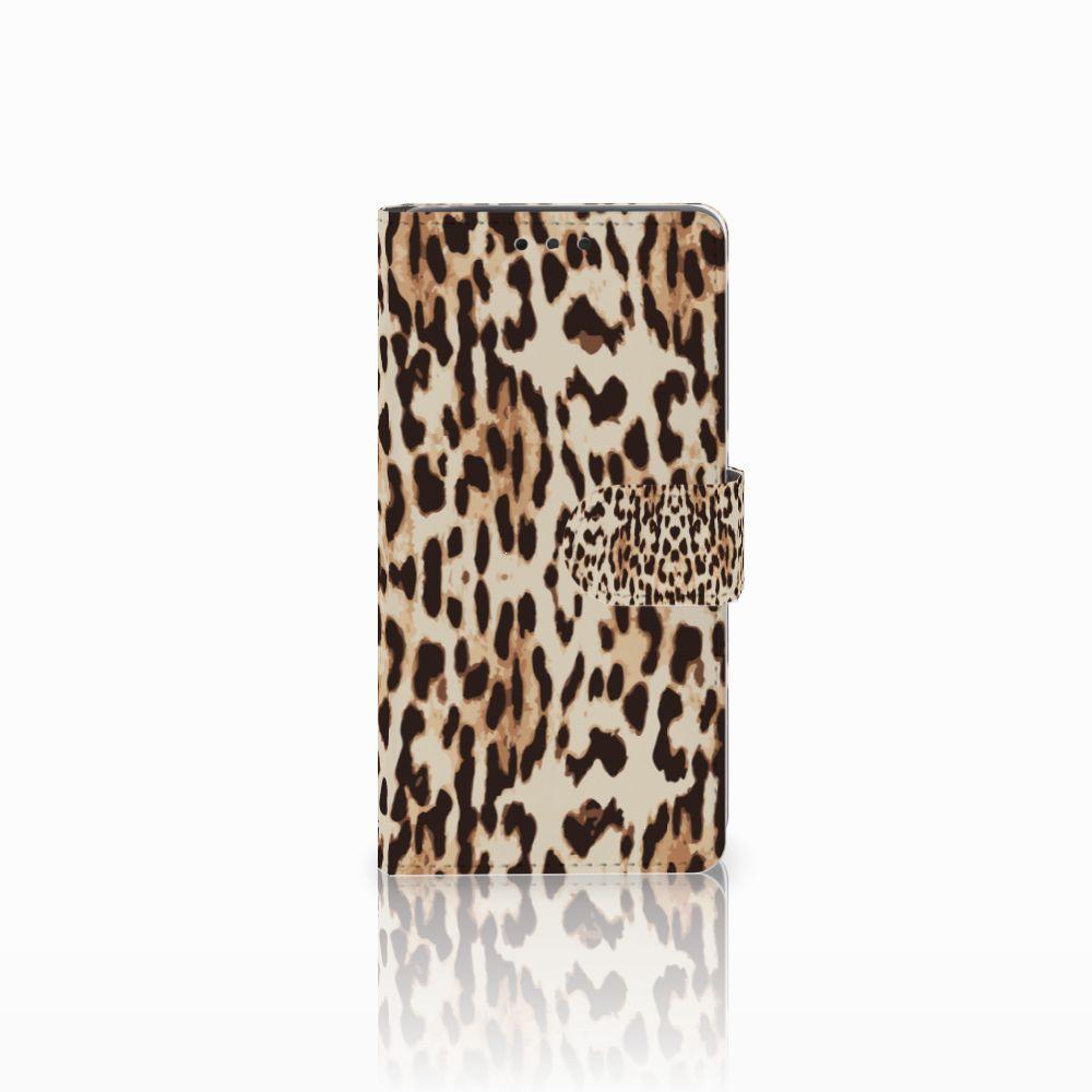 LG Bello 2 Uniek Boekhoesje Leopard