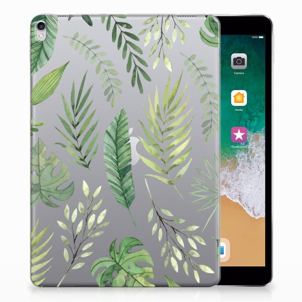 Apple iPad Pro 10.5 Siliconen Hoesje Leaves