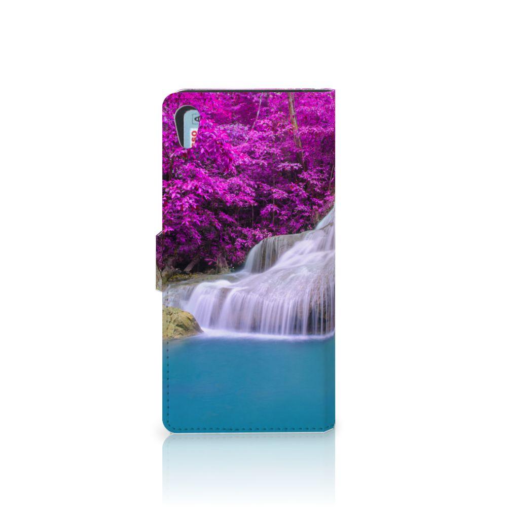 Sony Xperia XA1 Ultra Flip Cover Waterval