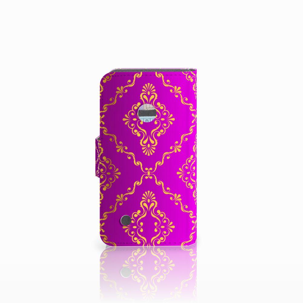 Wallet Case Nokia Lumia 530 Barok Roze