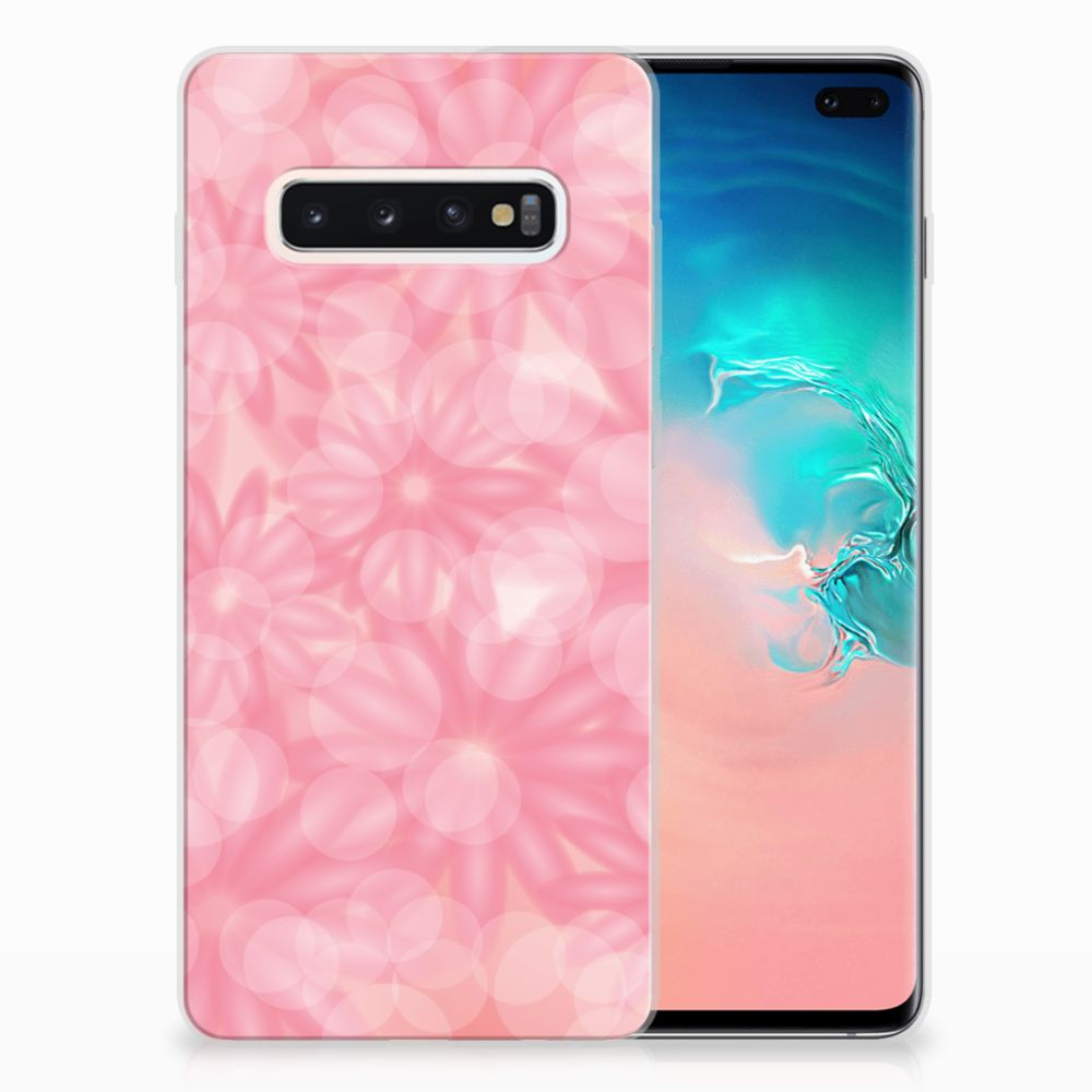 Samsung Galaxy S10 Plus TPU Case Spring Flowers