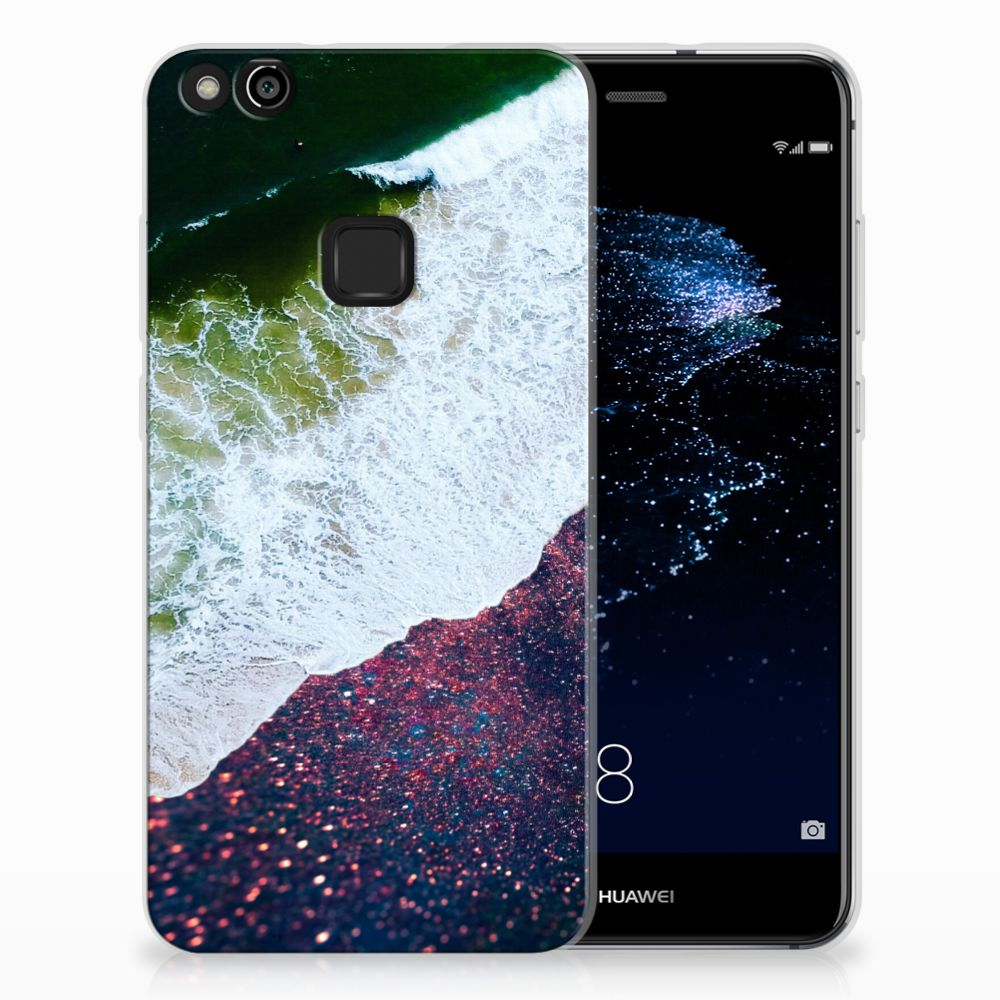 Huawei P10 Lite TPU Hoesje Sea in Space