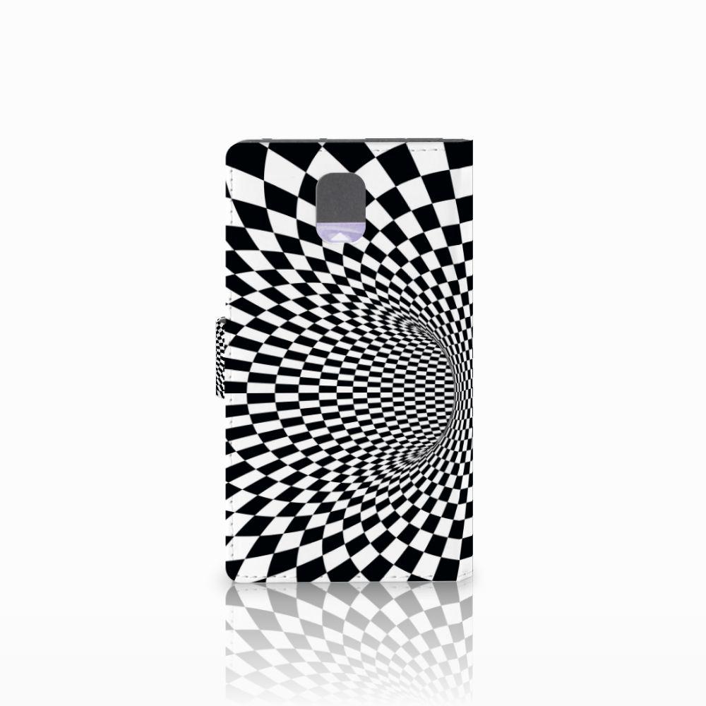 Samsung Galaxy Note 3 Bookcase Illusie