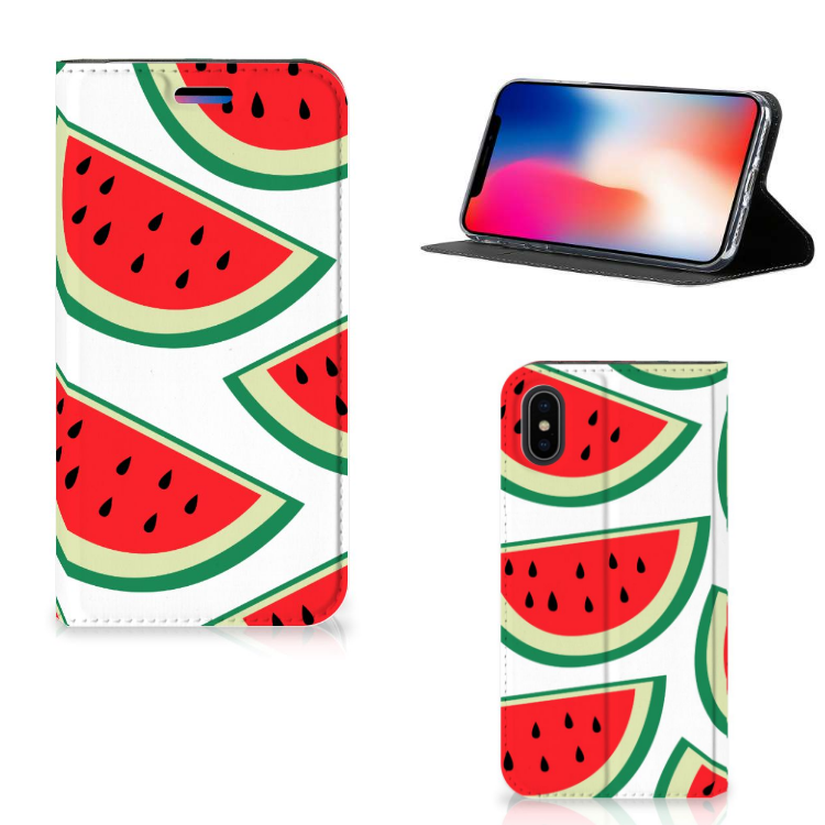 Apple iPhone X | Xs Flip Style Cover Watermelons