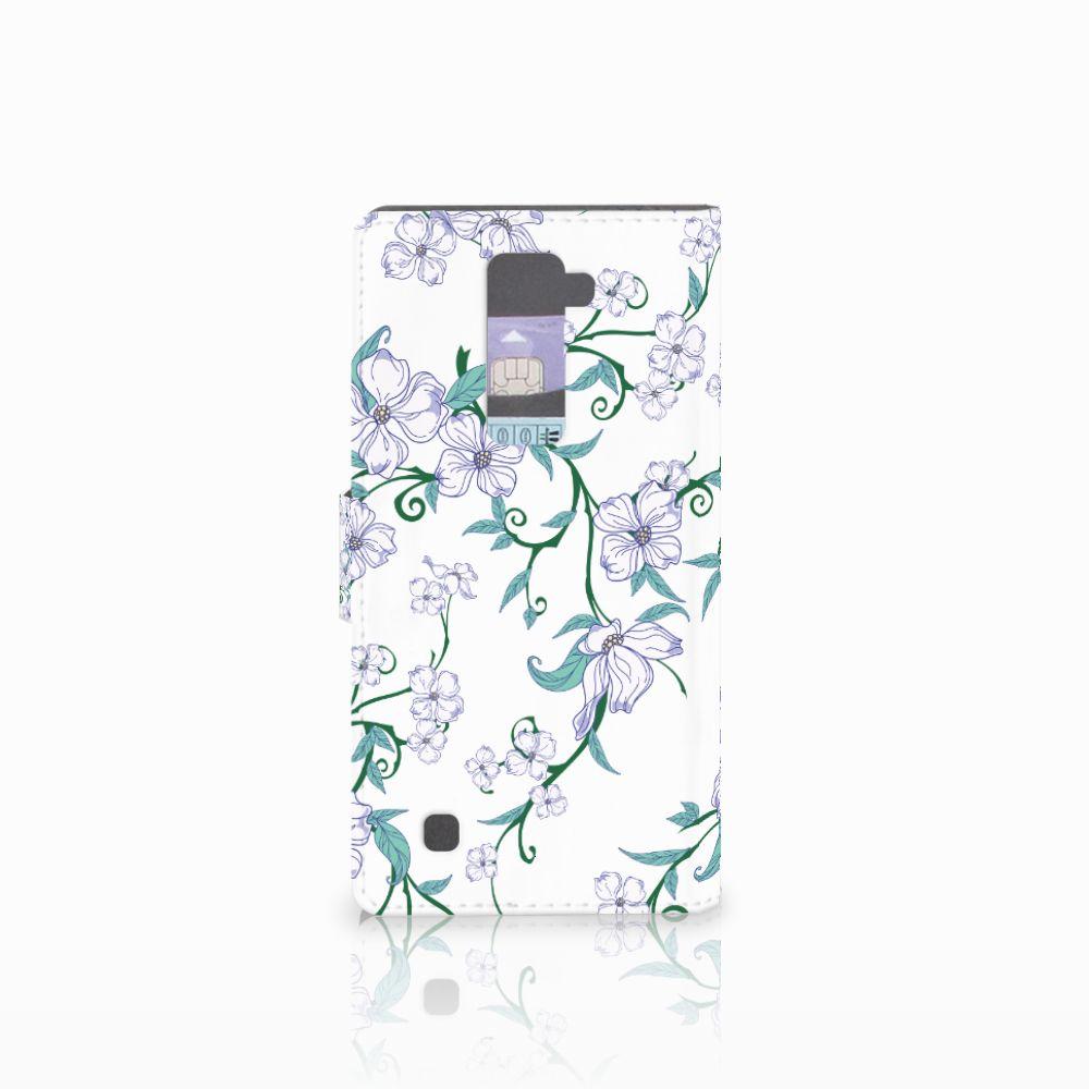 LG K10 2015 Uniek Hoesje Blossom White