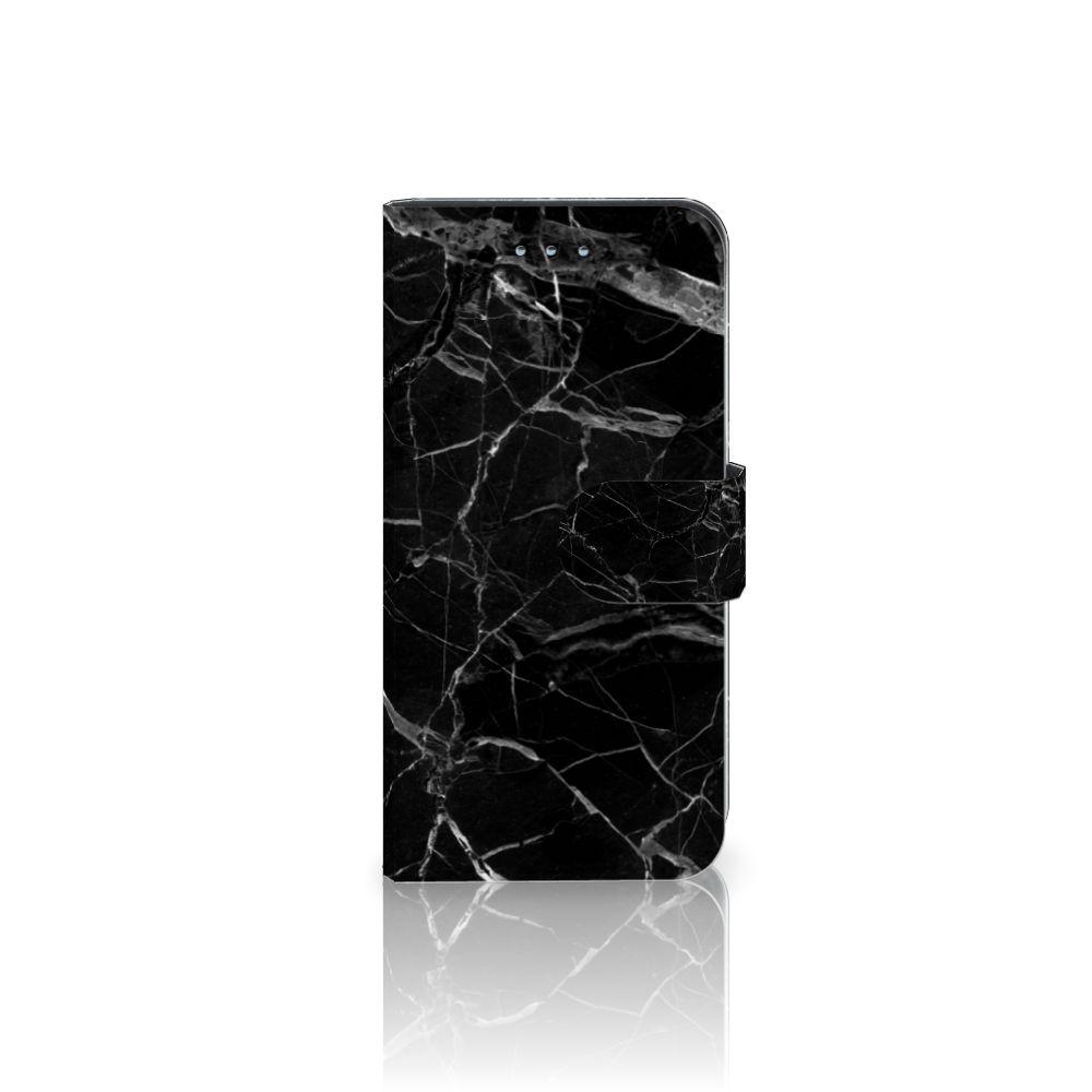 Samsung Galaxy S6 | S6 Duos Uniek Boekhoesje Marmer Zwart