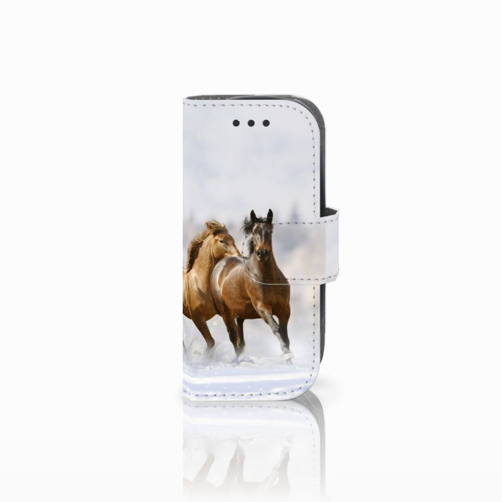 Nokia 3310 (2017) Uniek Boekhoesje Paarden
