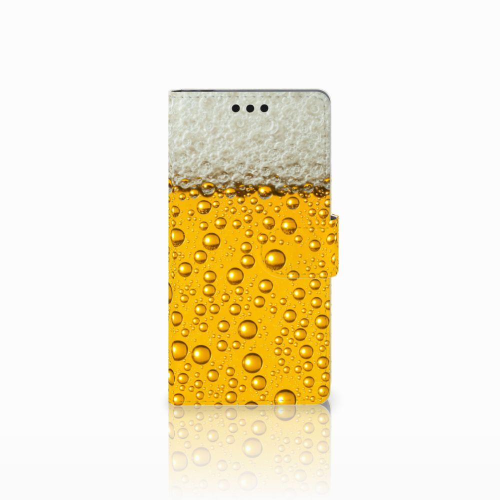 Sony Xperia M4 Aqua Uniek Boekhoesje Bier