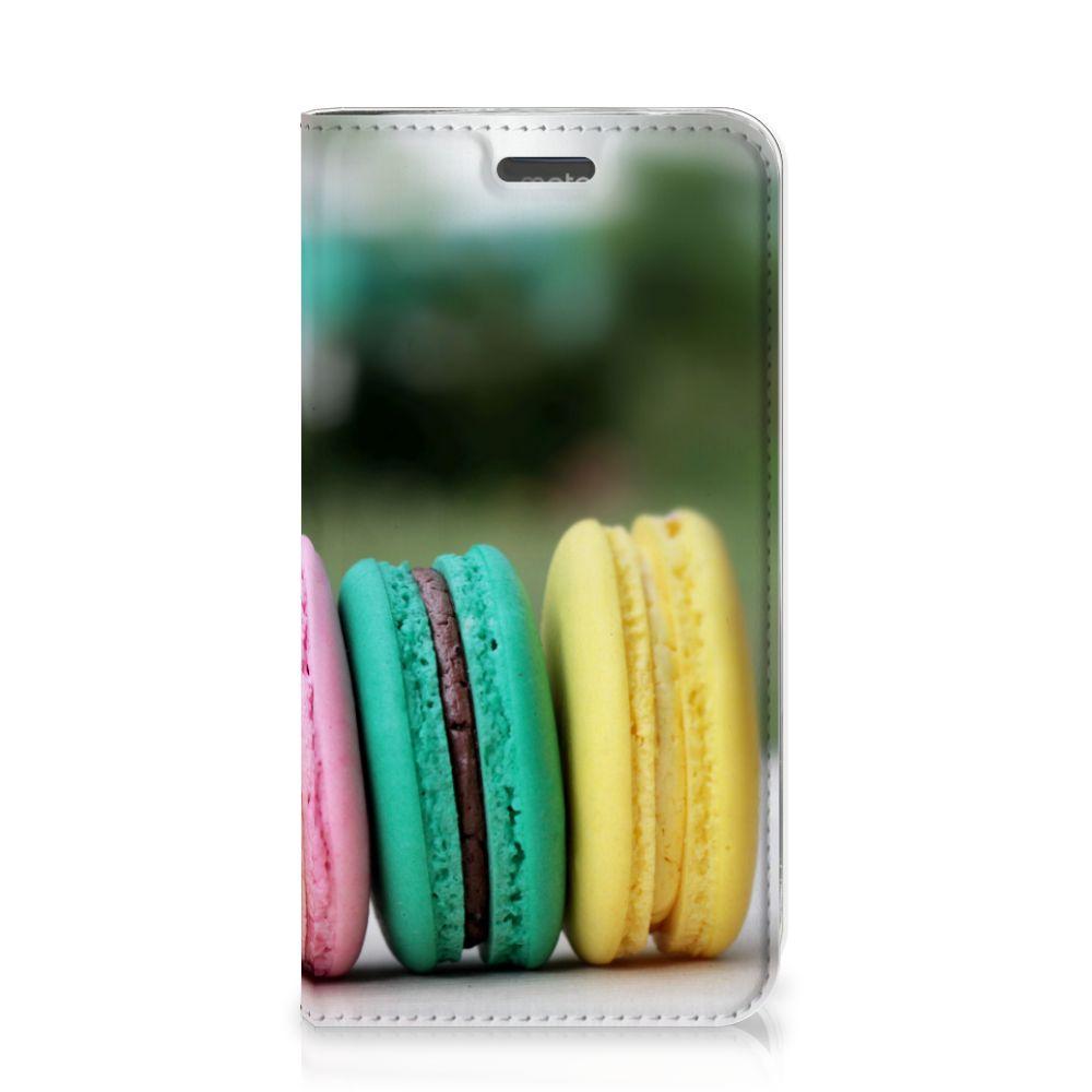 Motorola Moto C Plus Flip Style Cover Macarons
